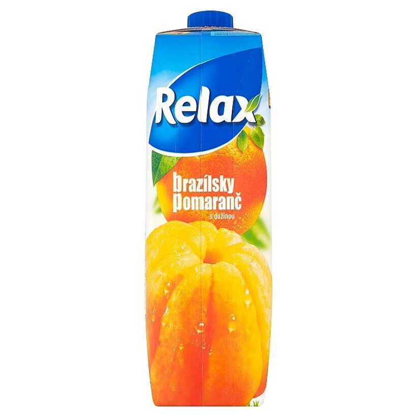 Relax Brazílsky pomaranč s dužinou 1 l