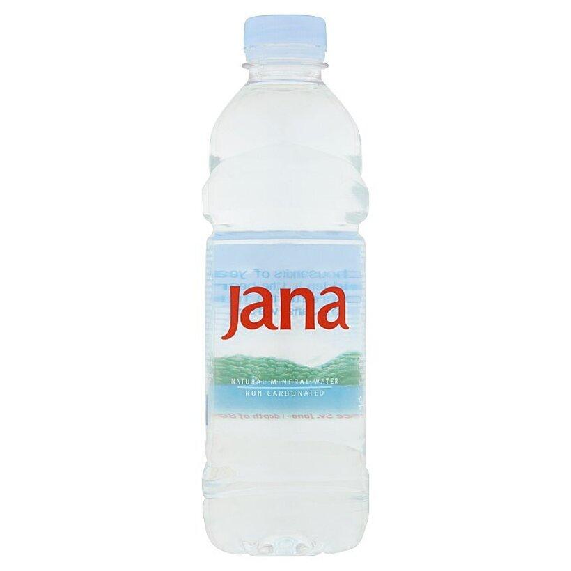 Jana Prírodná minerálna voda nesýtená 0,5 l