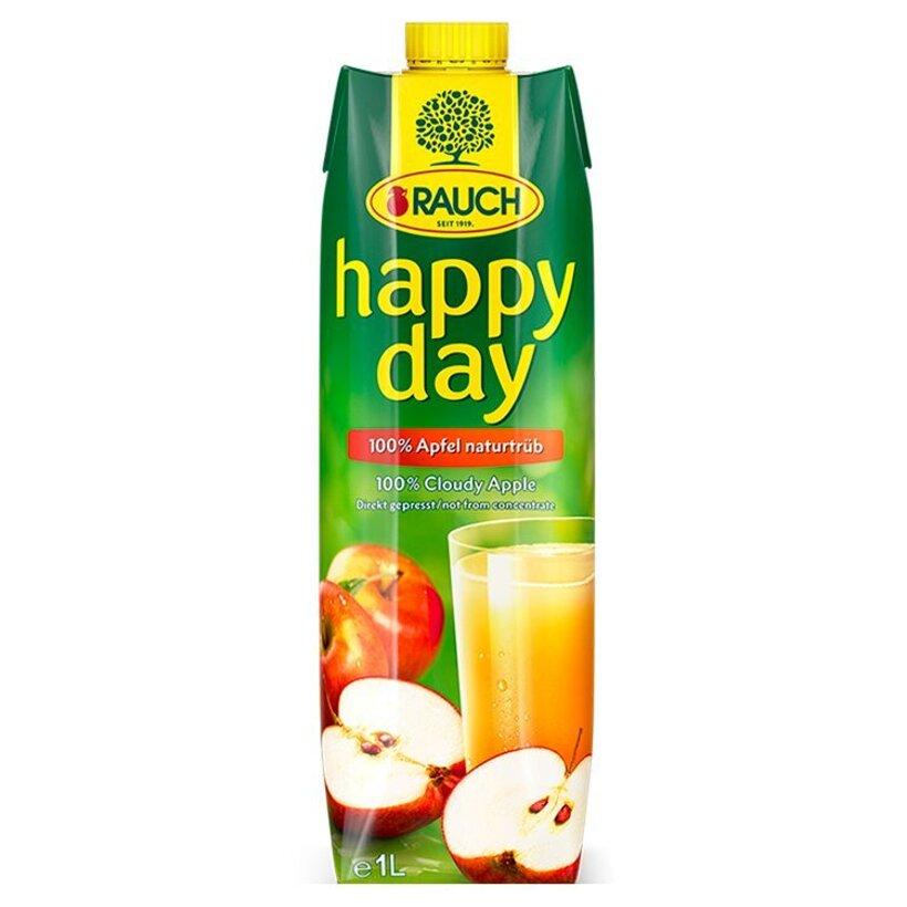 Rauch Happy Day Jablková šťava s dužinou 100% 12 x 1 l