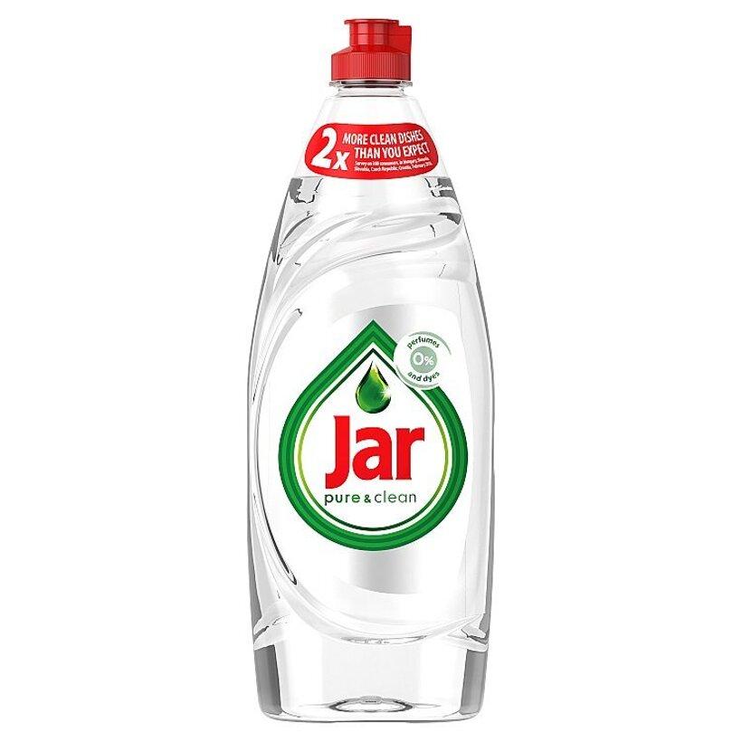 Prostriedok na umývanie riadu Jar Pure & Clean s 0 % parfumov a farbív 650ML