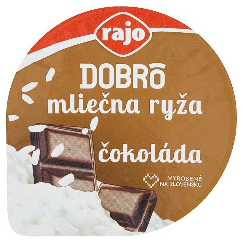 Rajo Dobrô Mliečna ryža čokoláda 175 g