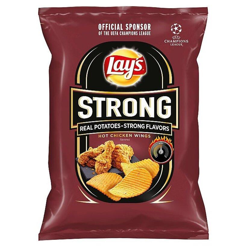 Lay's Strong Vyprážané zemiakové lupienky s pikantnou príchuťou 65 g