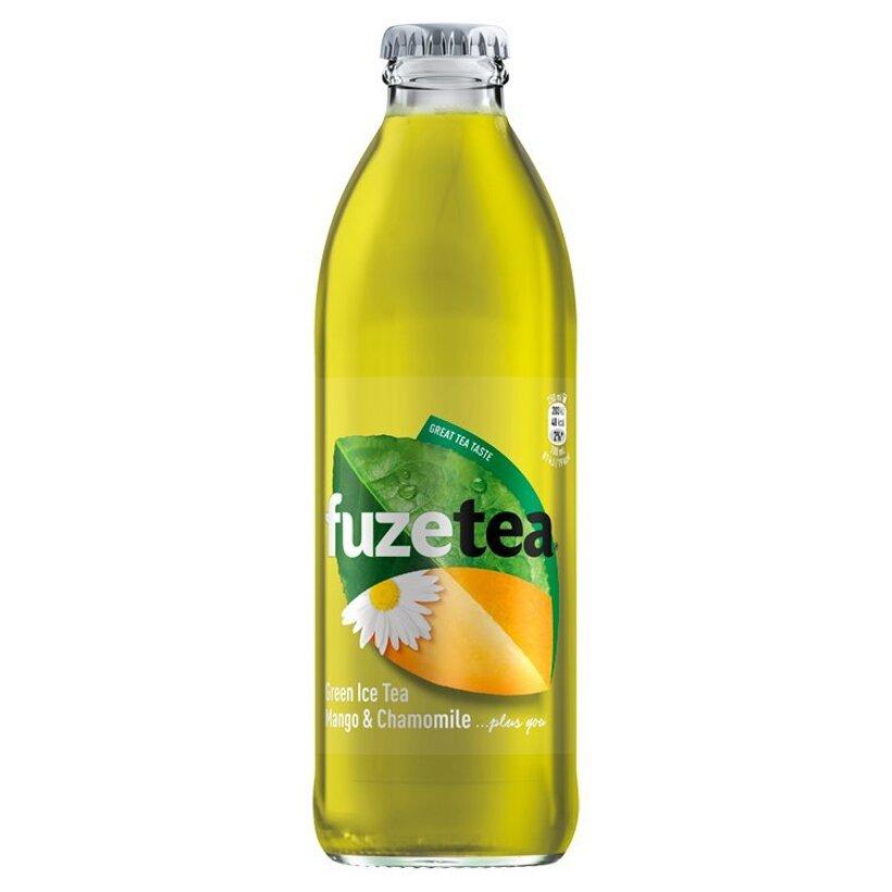 FuzeTea Mango & Chamomile zelený ľadový čaj 250 ml