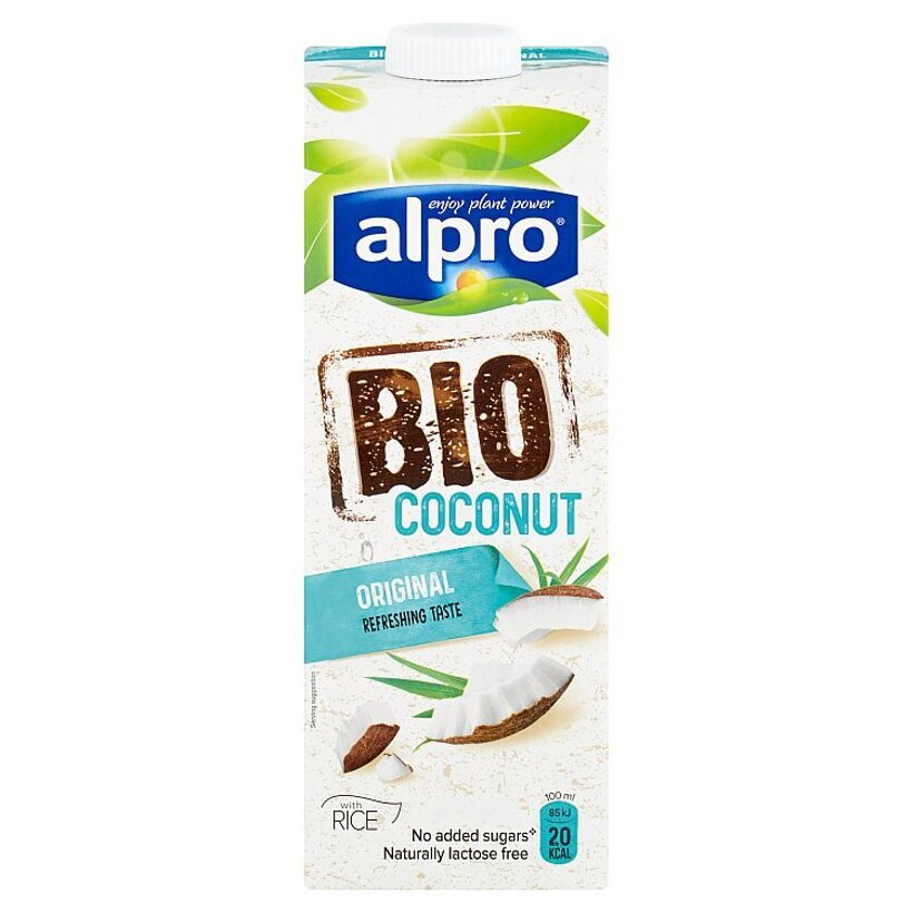 Alpro Bio kokosový nápoj s ryžou 1 l