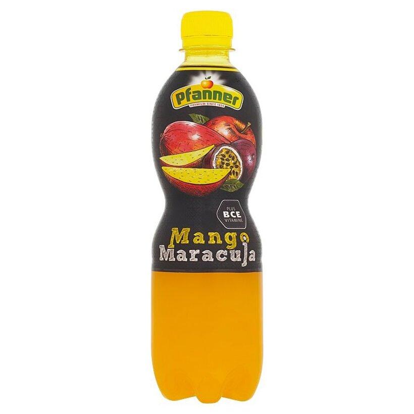 Pfanner BCE nápoj z viacerých druhov ovocia s príchuťou manga a mučenky 0,5 l