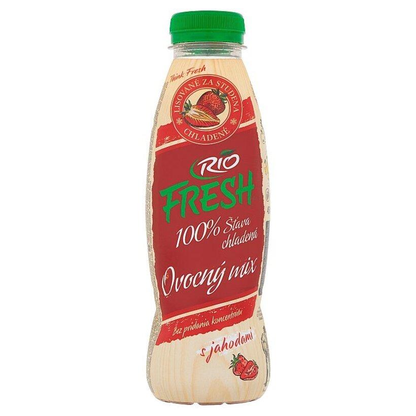 RIO FRESH 100% šťava chladená ovocný mix 450 ml