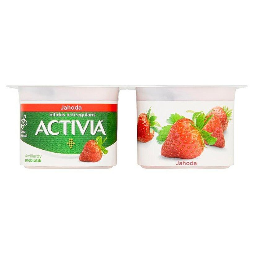 Danone Activia Jogurt jahoda 4 x 120 g