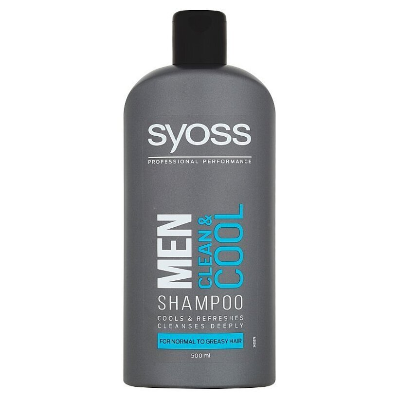 Syoss Men šampón Clean & Cool 500 ml