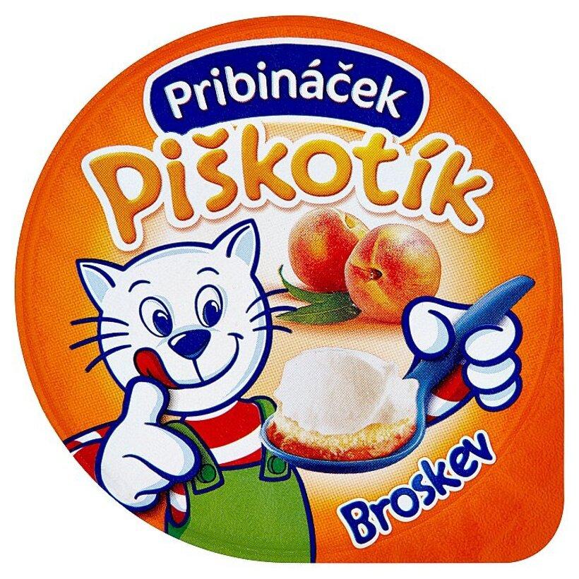 Pribináček Piškotík Broskyňový 100 g