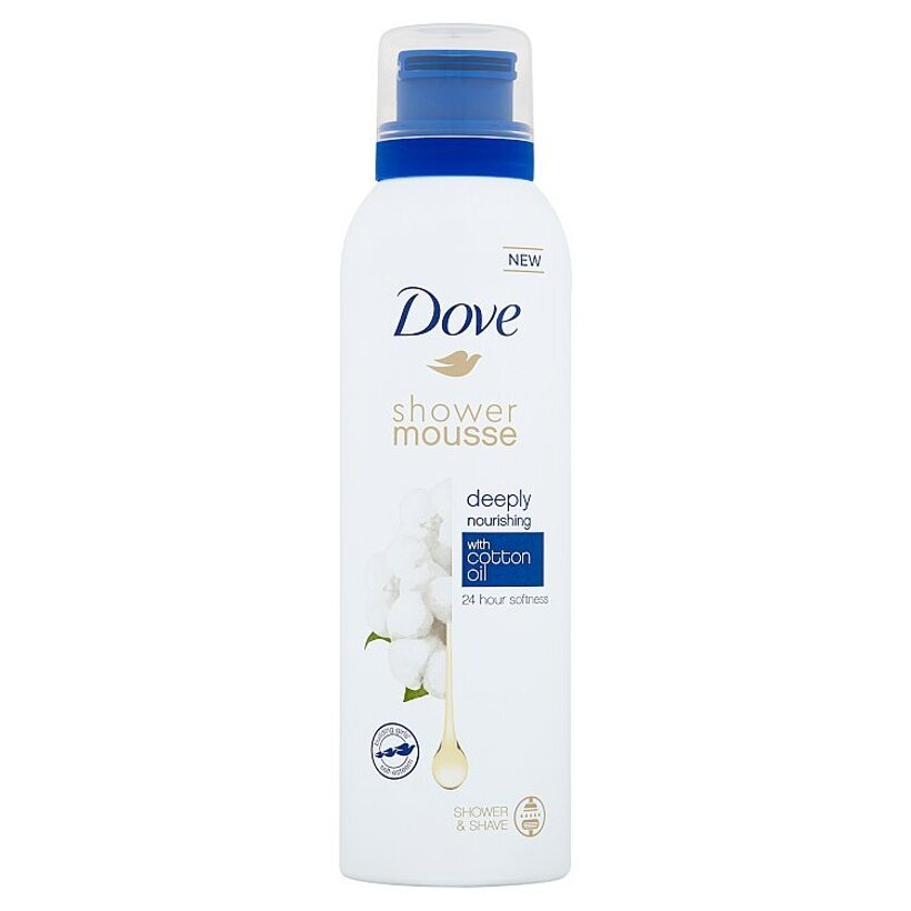 Dove Deeply Nourishing sprchovacia pena 200  ml