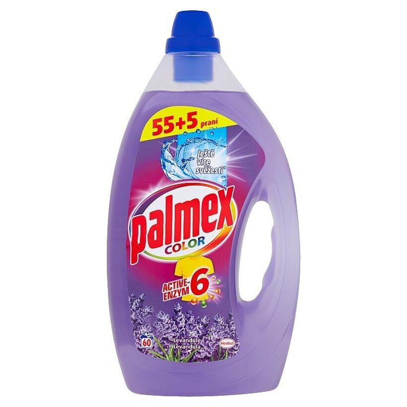 Palmex Color Active-Enzym 6 Levanduľa Gel 60 praní 3,00 l