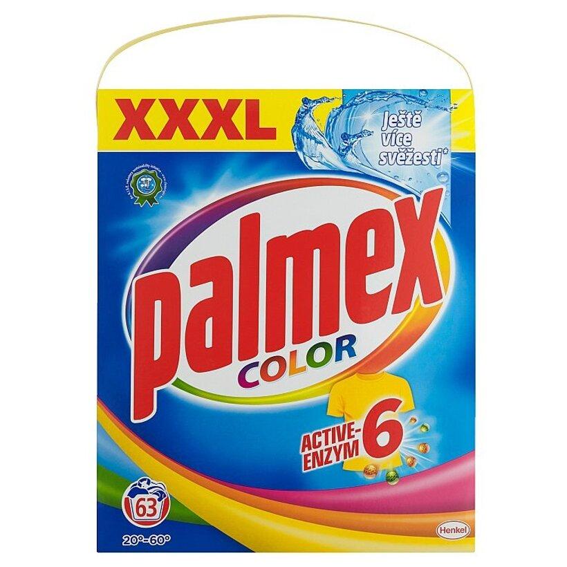 Palmex Color Active-Enzym 6 prací prostriedok 63 praní 4,095 kg