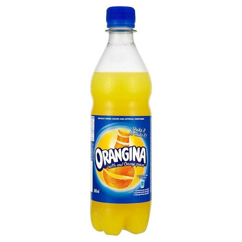 Orangina Nealkoholický nápoj s obsahom ovocnej šťavy sýtený 0,5 l