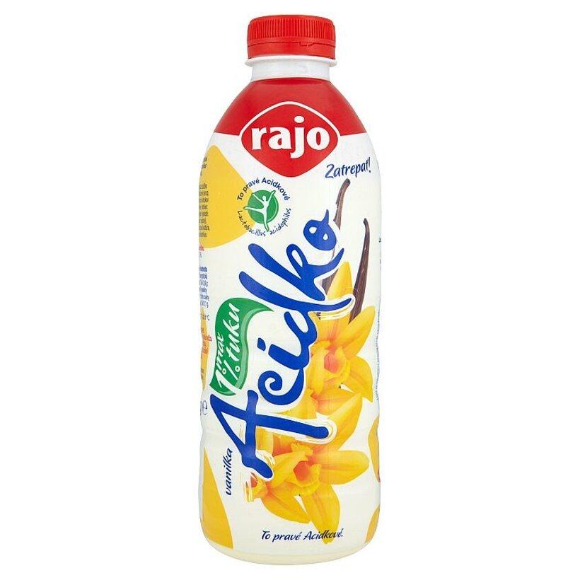 Rajo Acidko Zakysané mlieko vanilka 950 g