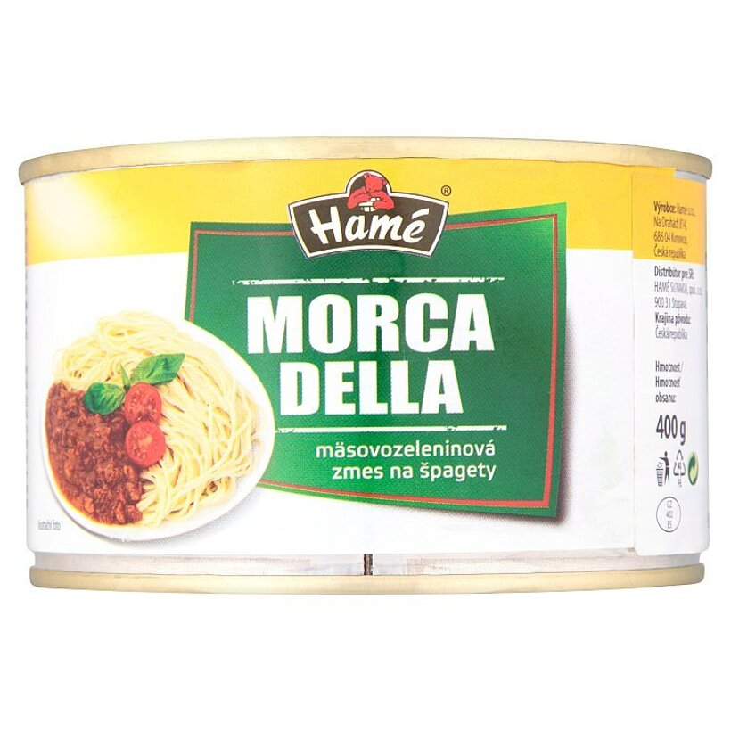 Hamé Morca Della mäsovozeleninová zmes na špagety 400 g