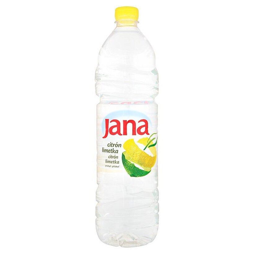Jana Nízkoenergetický nesýtený nápoj príchuť citrón limetka 1,5 l