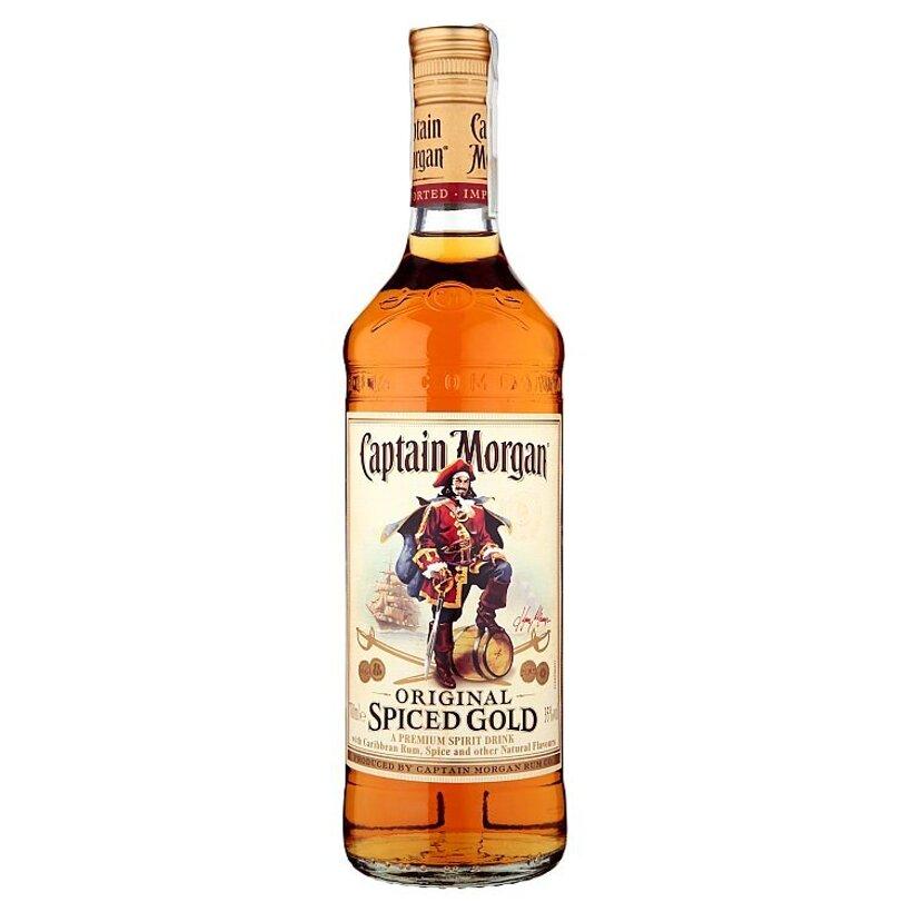 Captain Morgan Original spiced gold liehovina 0,70 l
