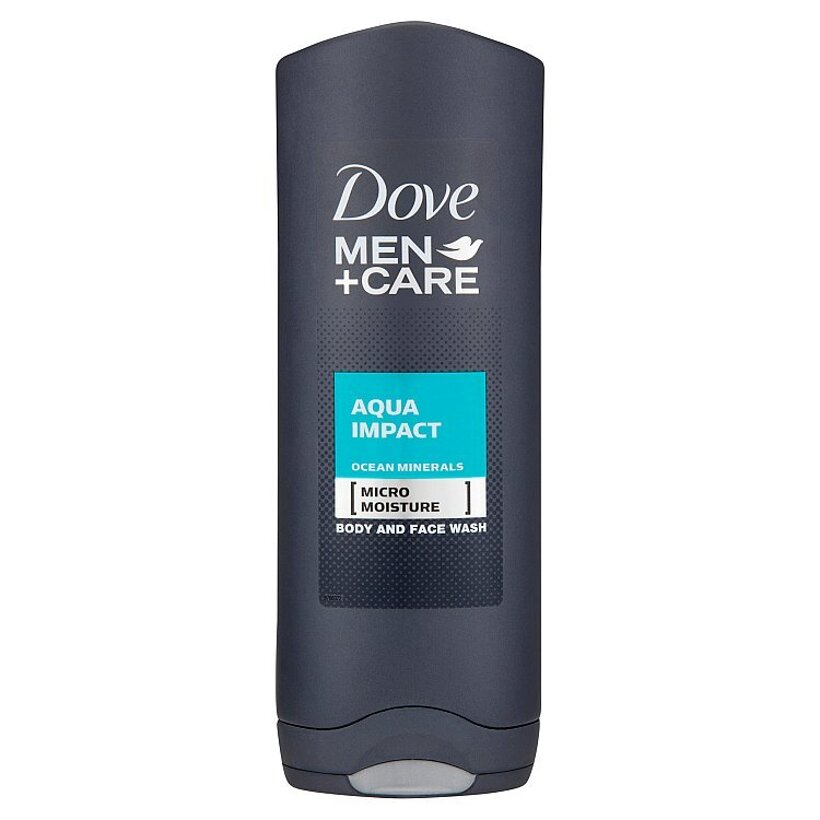 Dove Men+Care Aqua impact sprchovací gél na telo a tvár 250 ml
