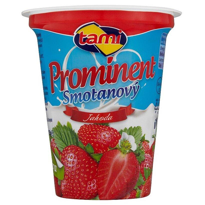 Tami Prominent Smotanový jogurt jahoda 135 g