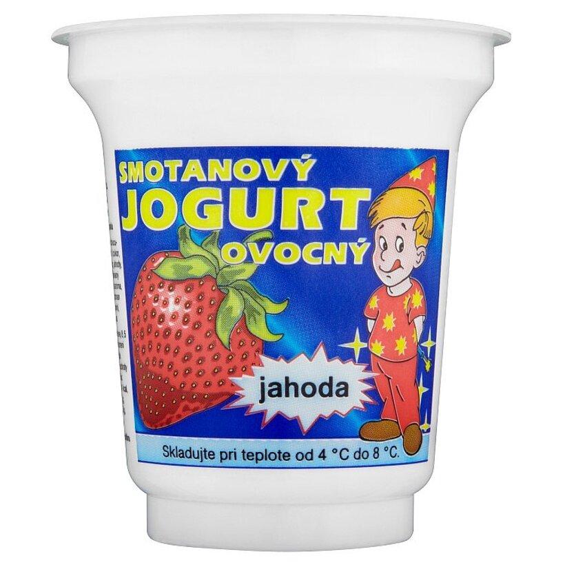 Smotanový jogurt ovocný jahoda 150 g