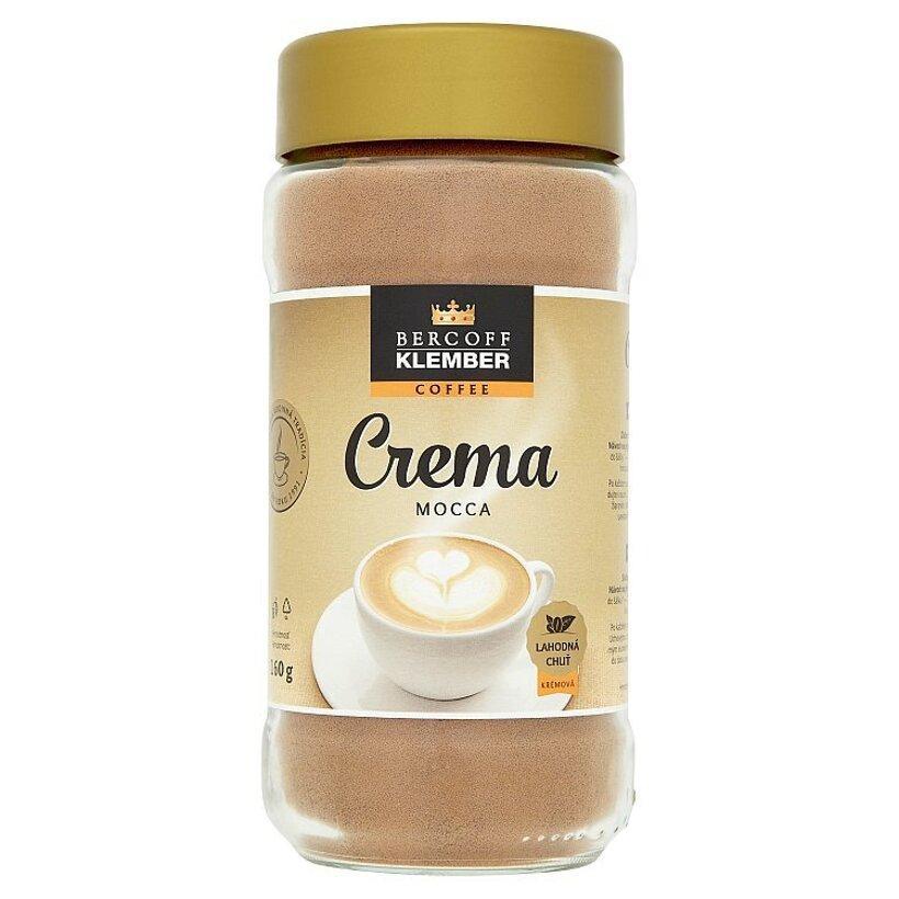 Bercoff Klember Crema Mocca instantná káva 160 g