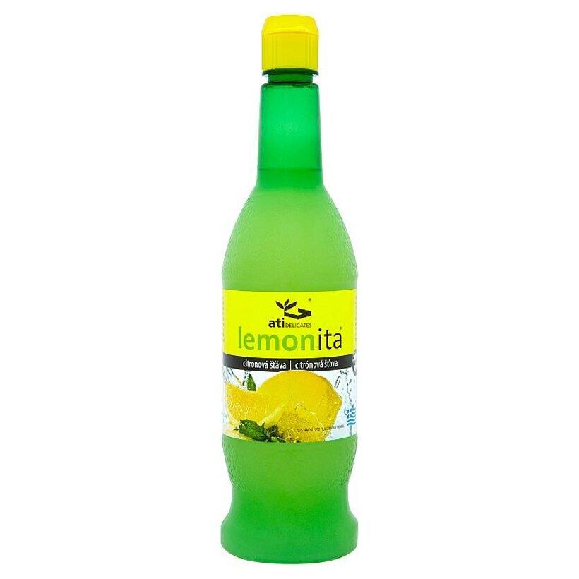 Ati Delicates Lemonita Citrónová šťava 330 ml