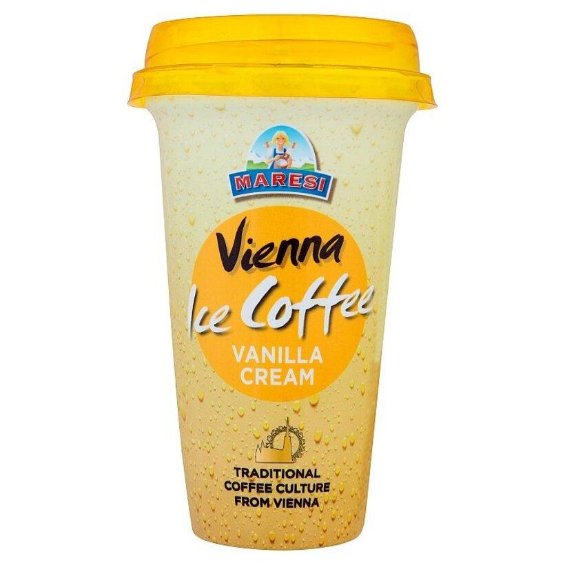 Maresi Vienna ice coffee ľadová káva s mliekom smotanou a vanilkovou príchuťou 230 ml