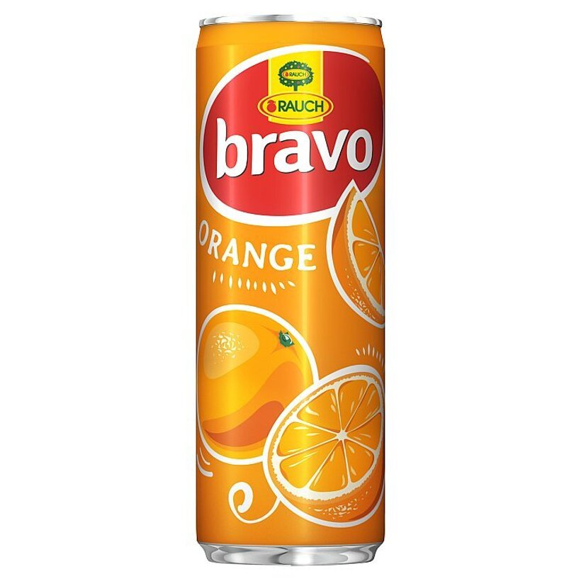 Rauch Bravo Pomaranč 355 ml