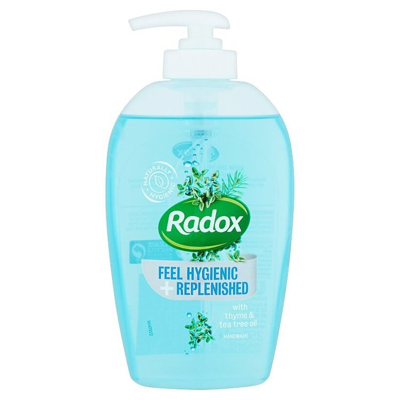Radox Feel hygienic and replenished tekuté mydlo 250 ml