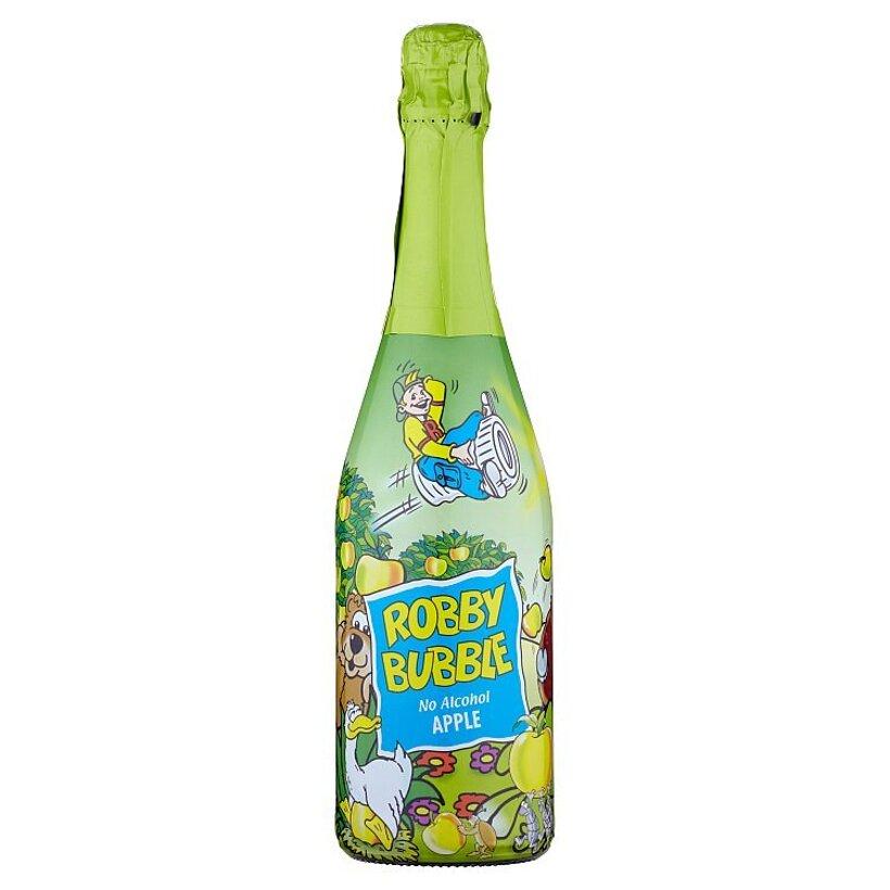 Robby Bubble Apple sýtený nealkoholický nápoj ochutený 0,75 l