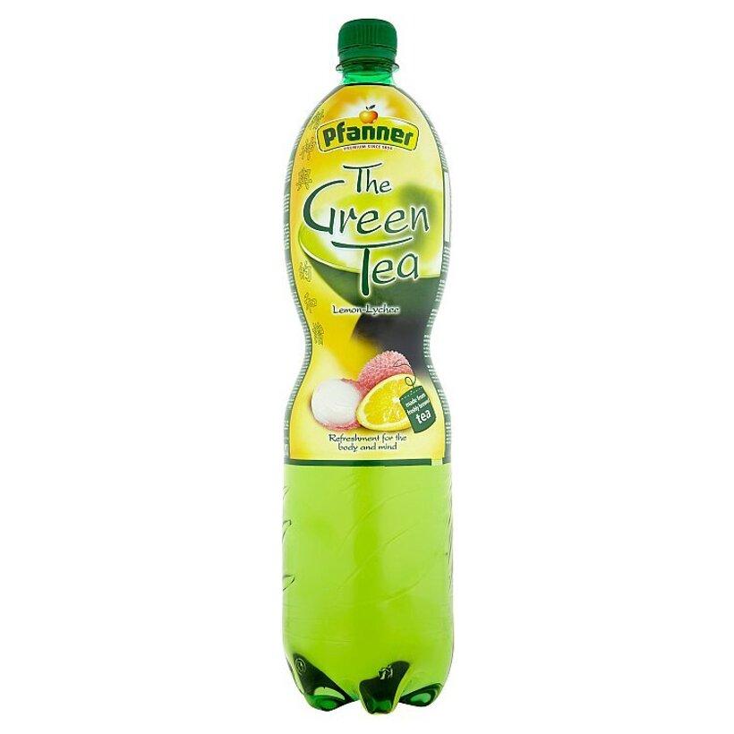 Pfanner Čajový nápoj s citrónovo-liči príchuťou 1,5 l