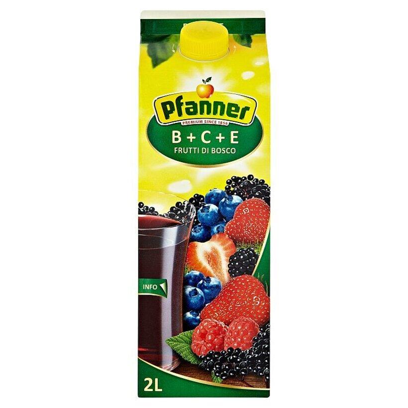 Pfanner BCE ovocný nápoj z bobuľového a lesného ovocia 2 L