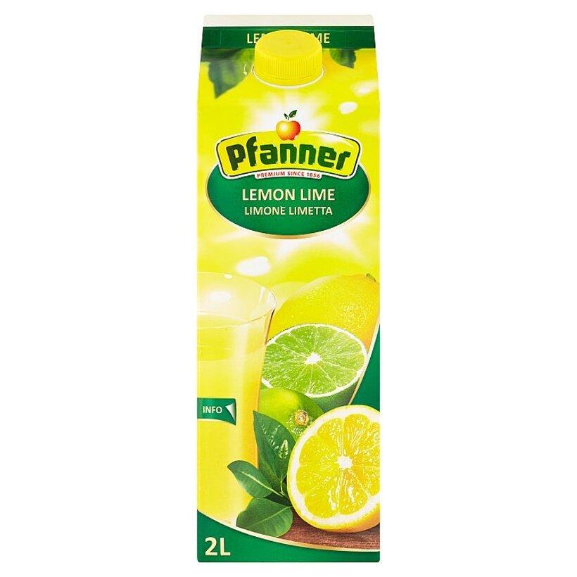 Pfanner Viacdruhový ovocný nápoj s citrónovo-limetovou príchuťou 2 l