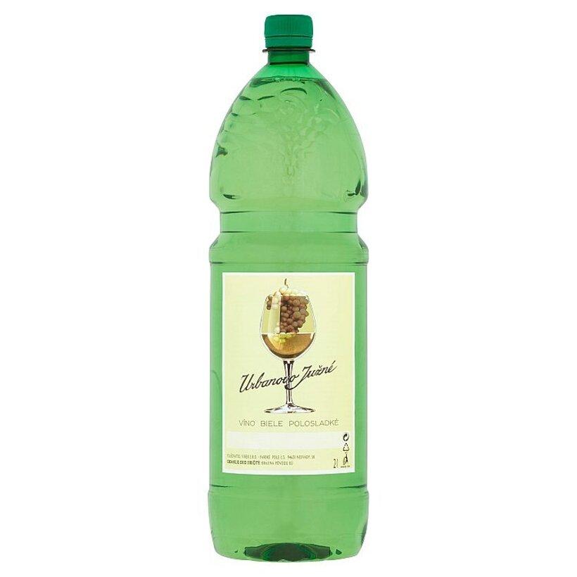 Urbanovo južné víno biele polosladké 2 l