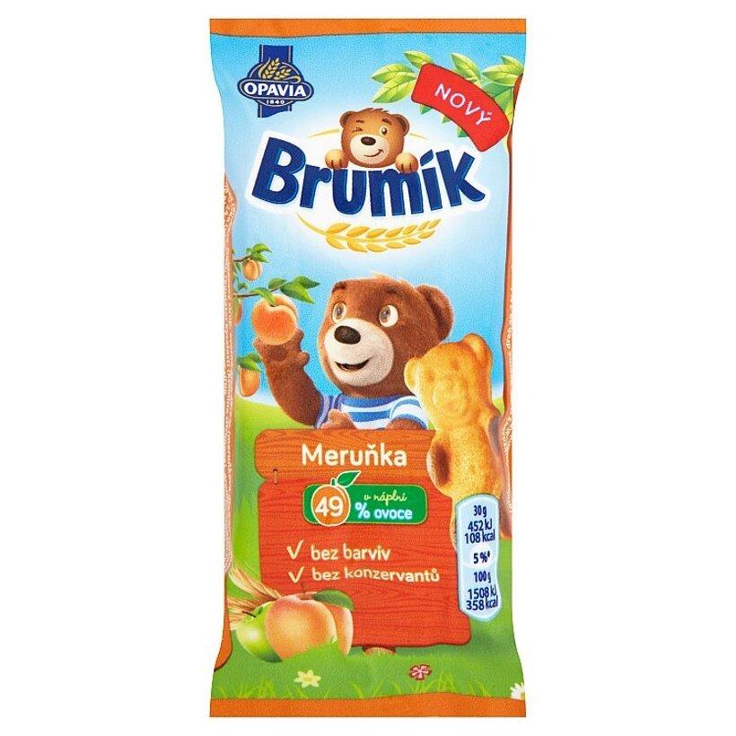 Opavia Brumík Sušienky s marhuľovou príchuťou 30 g