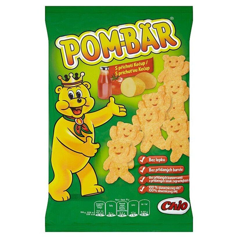 Pom-Bär Smažený zemiakový snack s príchuťou kečup 50 g