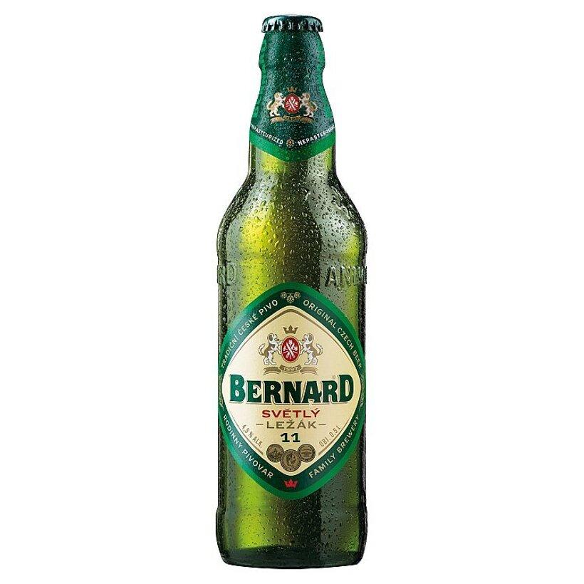 Bernard Tradičný svetlý ležiak 11° 0,5 l