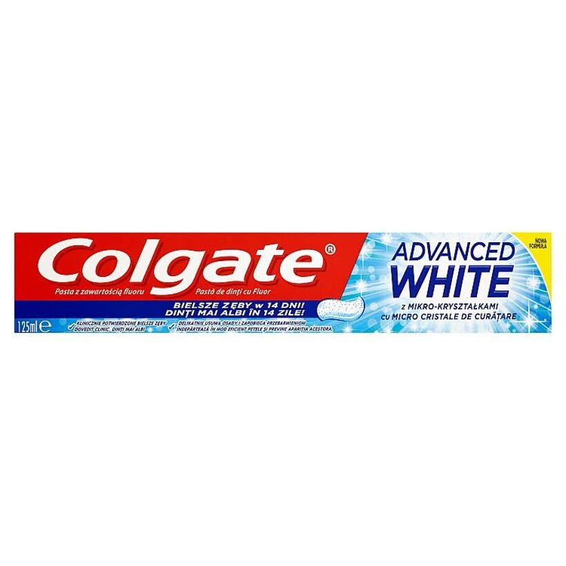 Colgate Advanced White zubná pasta 125 ml