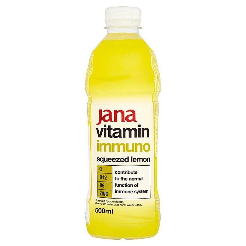 Jana Vitamin Immuno nesýtený nápoj s arómou citróna 500 ml