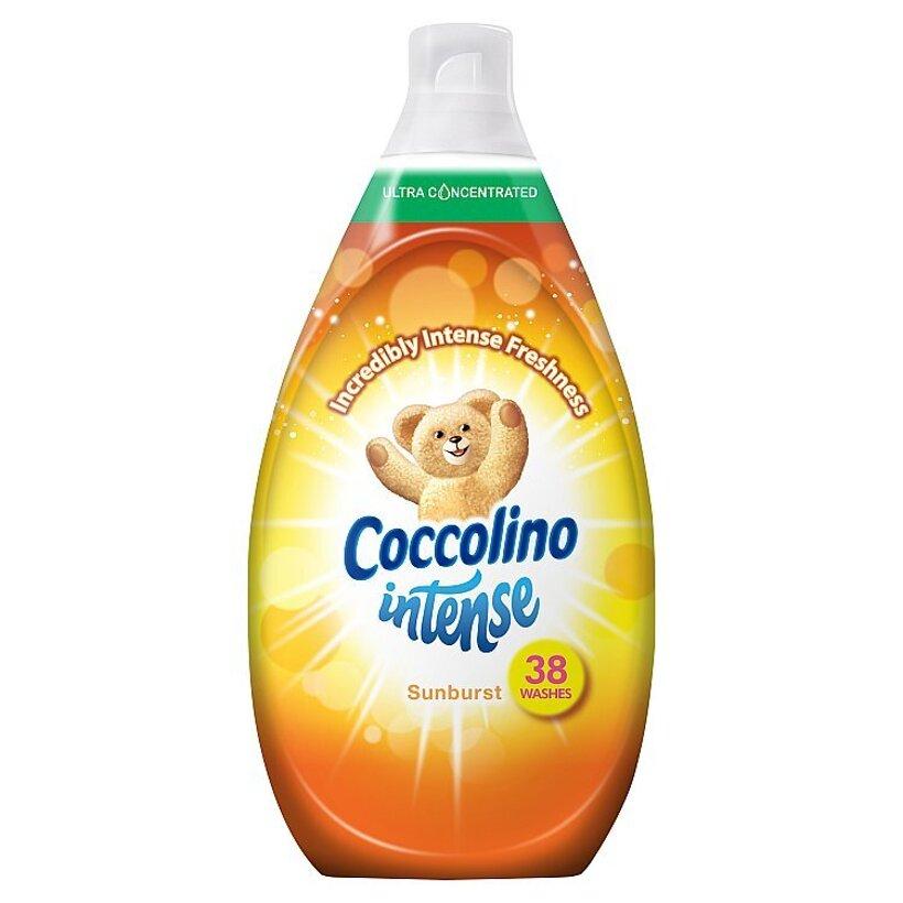Coccolino Intense Sunburst super koncentrovaný avivážny prípravok 38 praní 570 ml
