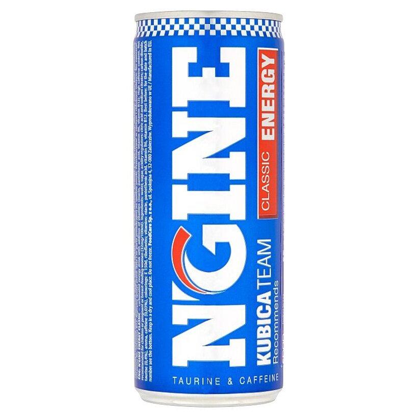 N-Gine Kubica Team Classic sýtený energizujúci nápoj 250 ml