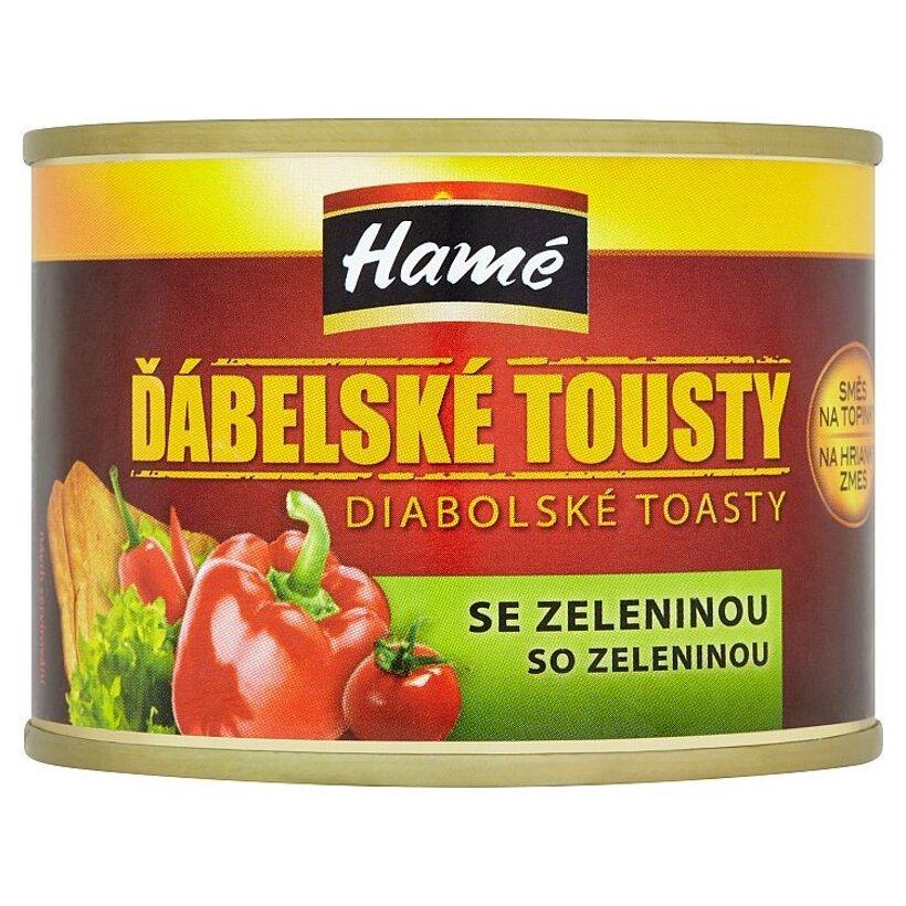 Hamé Diabolské toasty zmes na hrianky so zeleninou 180 g