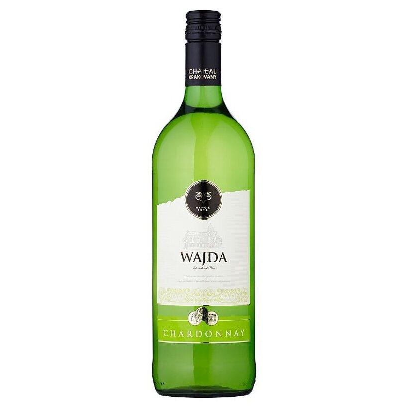 Wajda Chardonnay víno biele suché 1 l