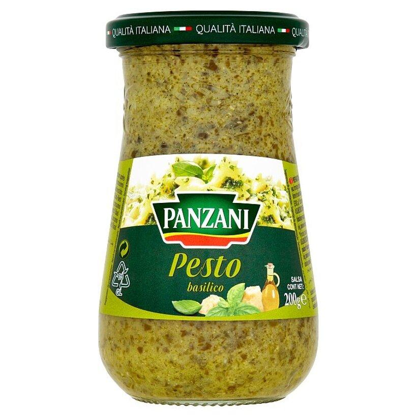 Panzani Pesto na báze bazalky a slnečnicového oleja 200 g