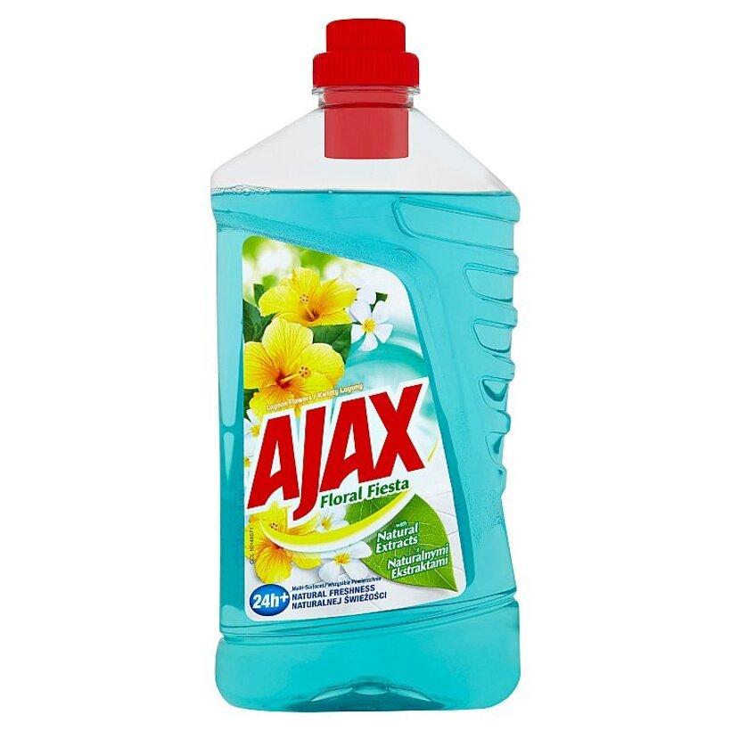 Ajax Floral Fiesta Lagoon Flowers čistič povrchov pre domácnosť 1 l