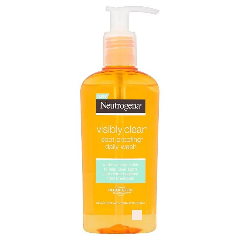 Neutrogena Visibly Clear Spot Proofing čistiaci gél 200 ml