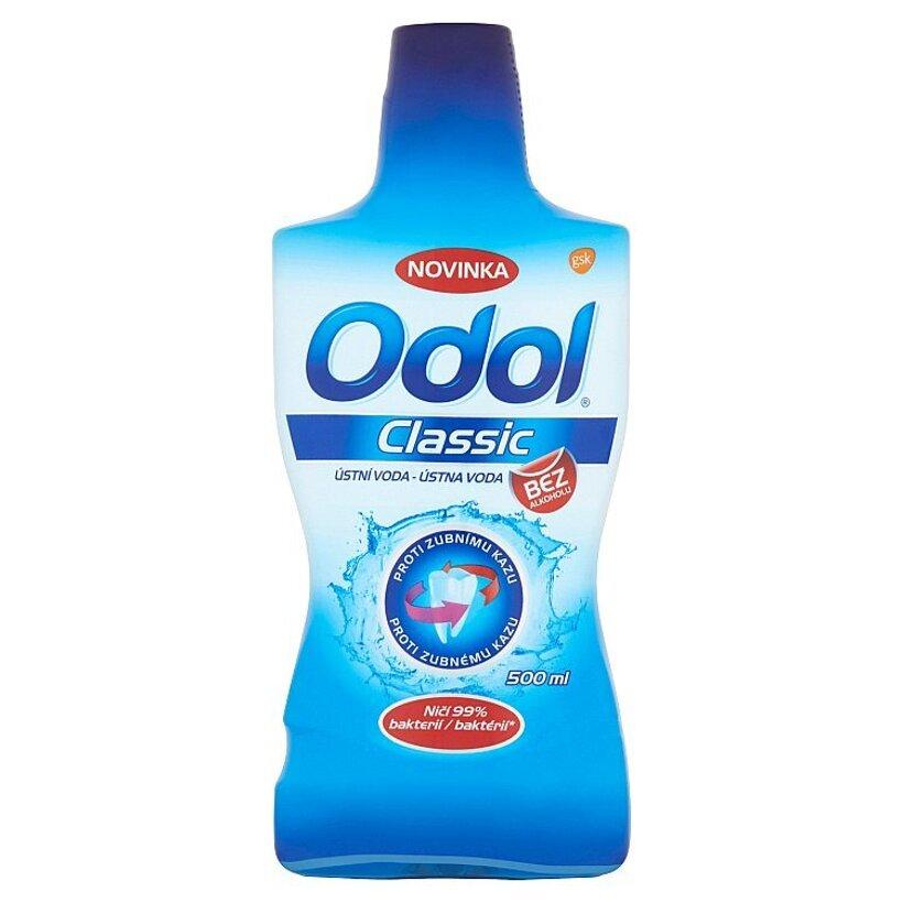 Odol Classic ústna voda proti zubnému kazu 500 ml