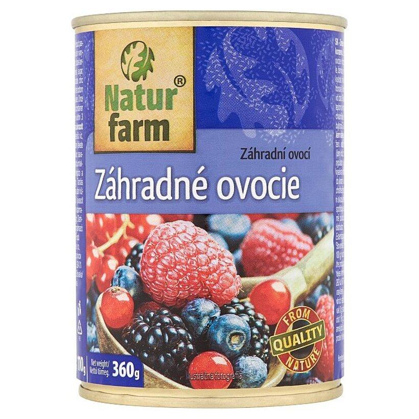 Natur Farm Záhradné ovocie 360 g
