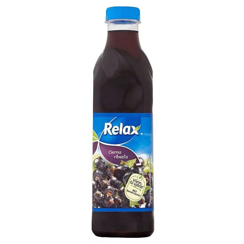 Relax Čierna ríbezľa  1 l