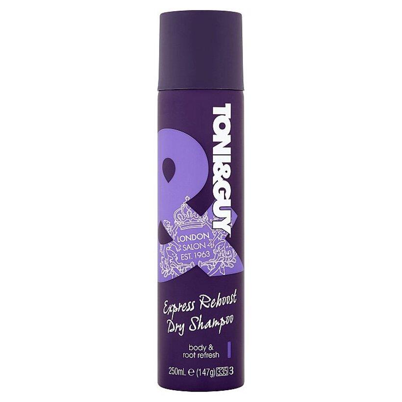 Toni&Guy Express Reboost suchý šampón 250 ml